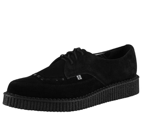 Suede Pointed Creepers - T.U.K.