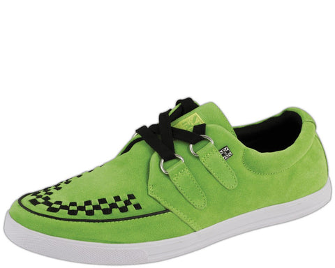 Neon green rocker 2-ring sneaker - T.U.K.