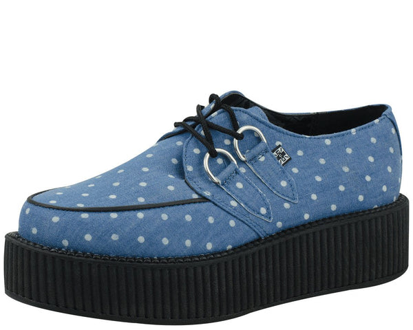 Denim Dot Viva Mondo Creeper - T.U.K.