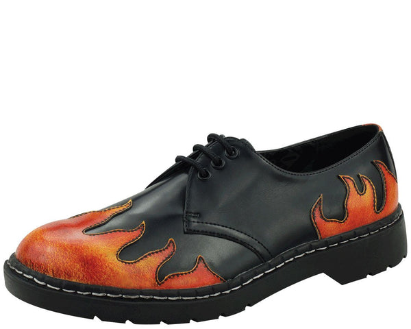 Flame Oxfords