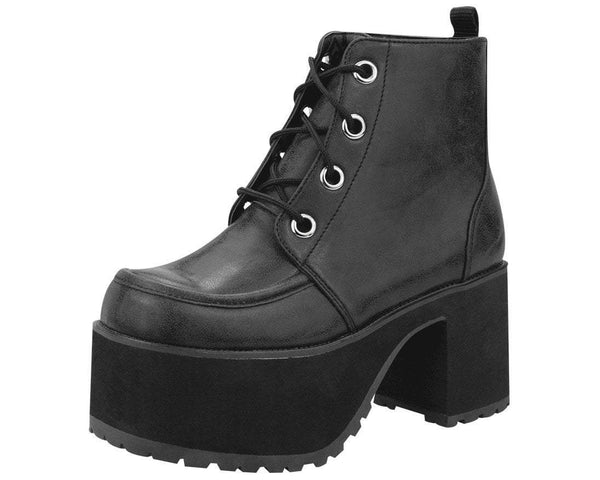 Distressed Ankle Nosebleed Boot - T.U.K.