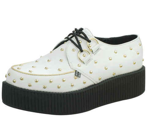 Gold Studded Creepers - T.U.K.