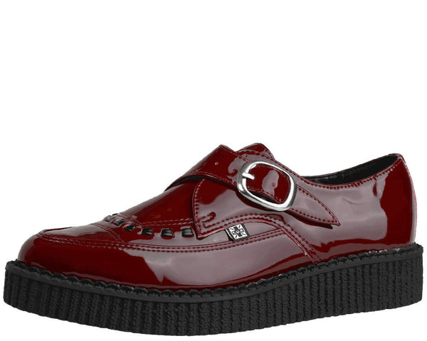 Burgundy Pointed Creeper - T.U.K.