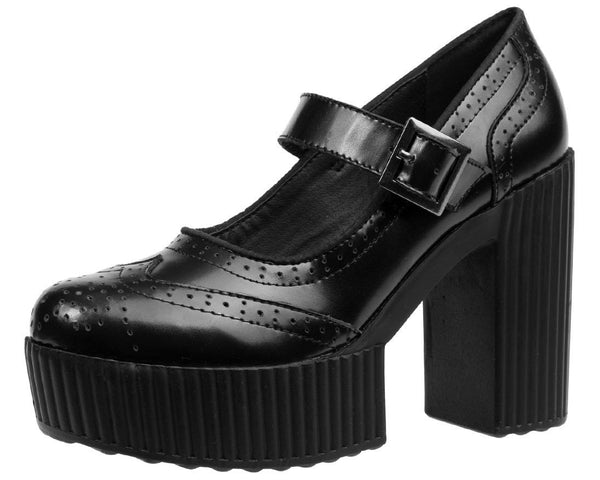 Black Mary Jane Heel - T.U.K.