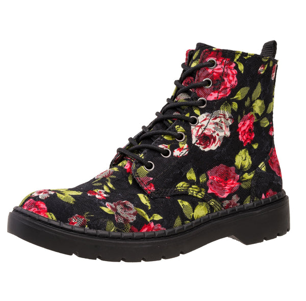 Rose Lace Ealing Boot