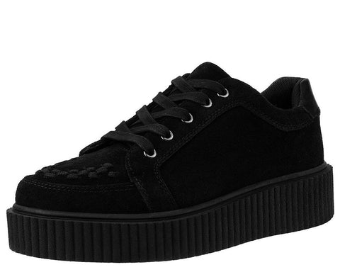 Black Suede Casbah Creeper
