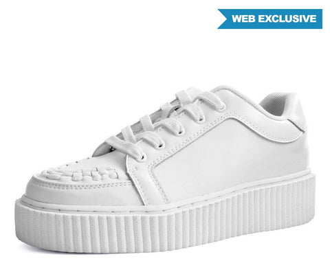 White Leather Casbah Creeper