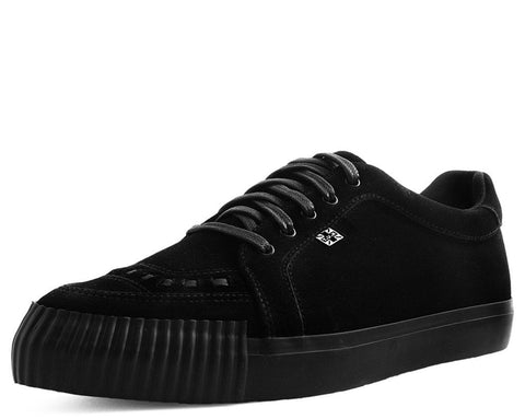 Black Suede Pointed Bumper EZC