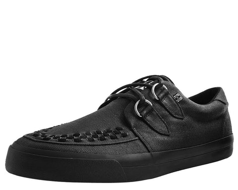 Black Wax Canvas VLK Sneaker