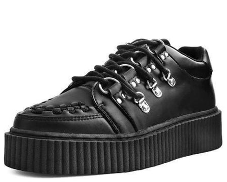 Black TUKskin™ Multi-Lace Casbah Creeper