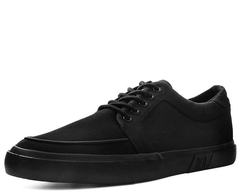 Black Basic Twill No-Ring VLK Sneaker