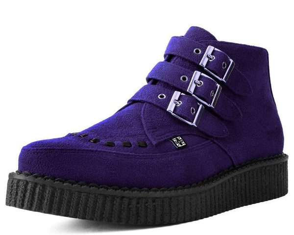 Ultra Violet 3-Buckle Pointed Creeper Boot