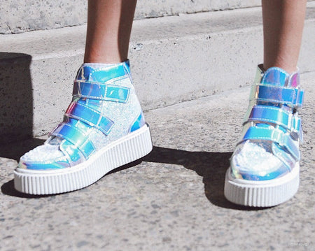 Ice Iridescent High Top Casbah Creeper