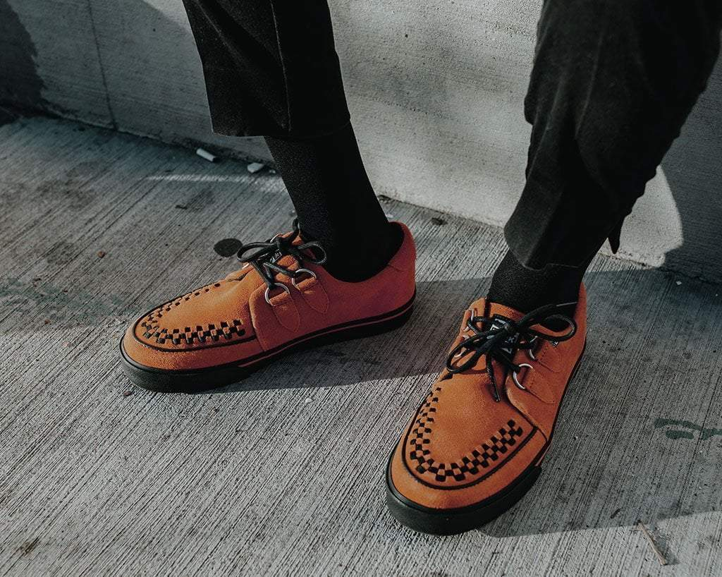 Burnt Orange 2-Ring VLK Sneaker