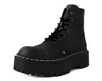 Black 7-Eye Double Decker Boot
