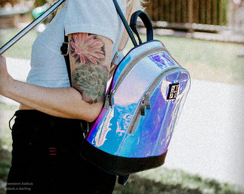 Ice Iridescent Backpack
