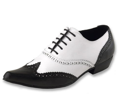 Black & White Brogue Winklepicker