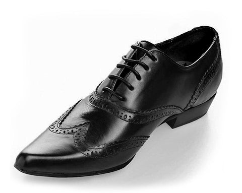 Black Brogue Winklepicker