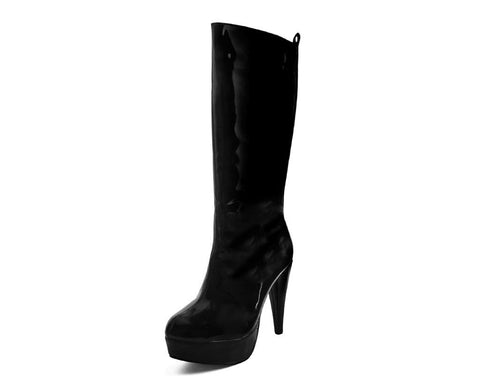 Black Halloween Boot