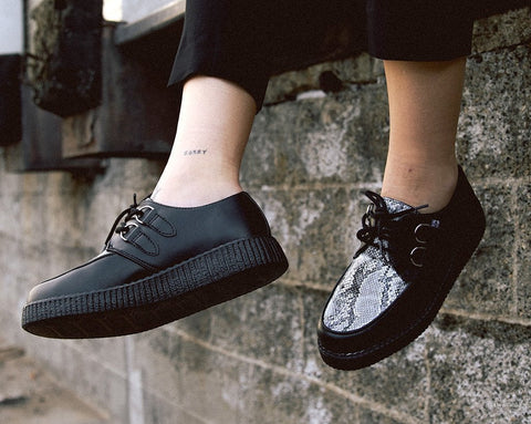 Black & Grey Snake Viva II Low Creeper