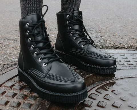Black TUKskin™ 7-Eye- VivaII Boot