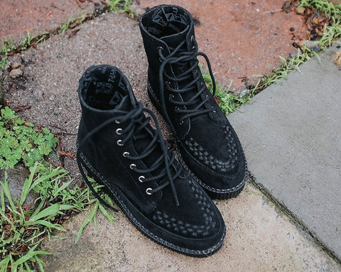 Black Suede 7-Eye VivaII Boot