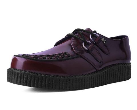 Burgundy Rub-Off TUKskin™ Creeper