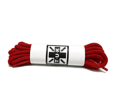 100 CM Red Round Laces