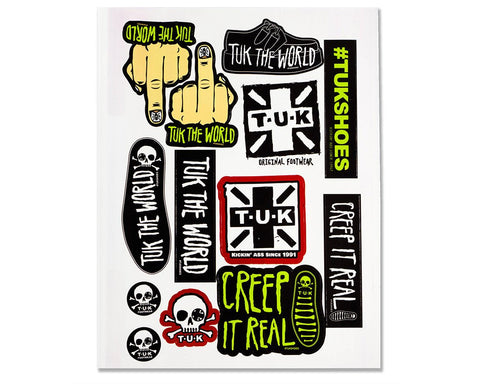 T.U.K. Sticker Sheet