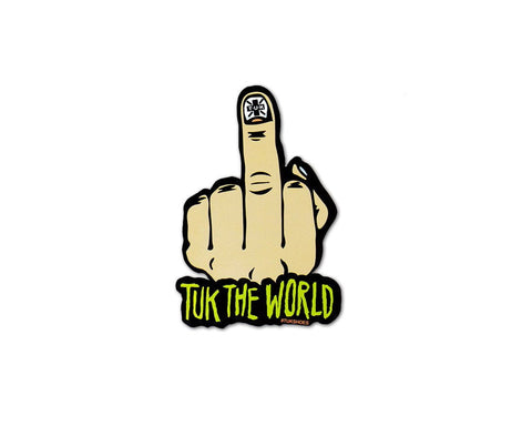 TUK The World Birdie Sticker