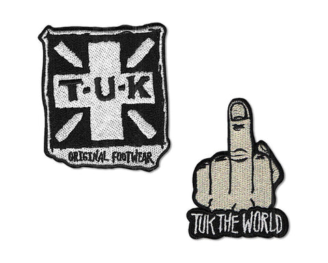 T.U.K. Embroidered Patch 2-Pack