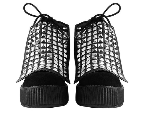 Pyramid Studded Boot Apron