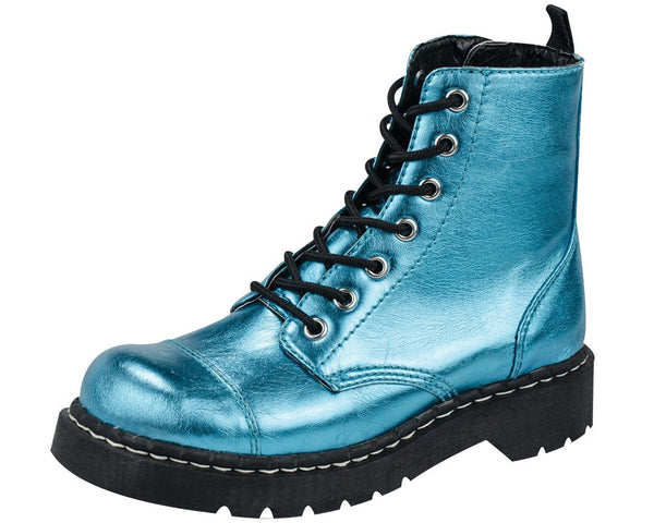 Metallic Anarchic Boots - T.U.K.