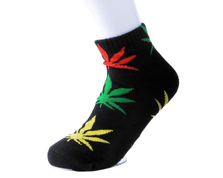 Multicolor Weed Women's Sock