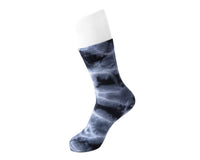Tie-Dye Black Women's Crew Sock