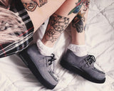 Grey Suede Viva Creepers
