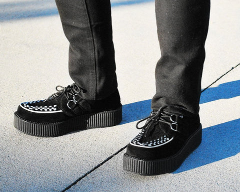 Two Tone Suede Creepers