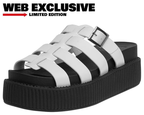 White Fisherman Sandal