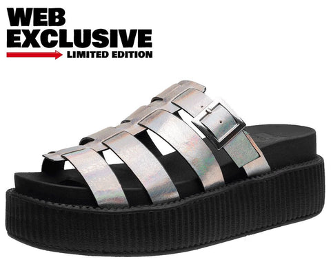 Iridescent Fisherman Sandal - T.U.K.
