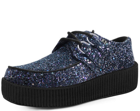 Black Jewels Glitter Creeper