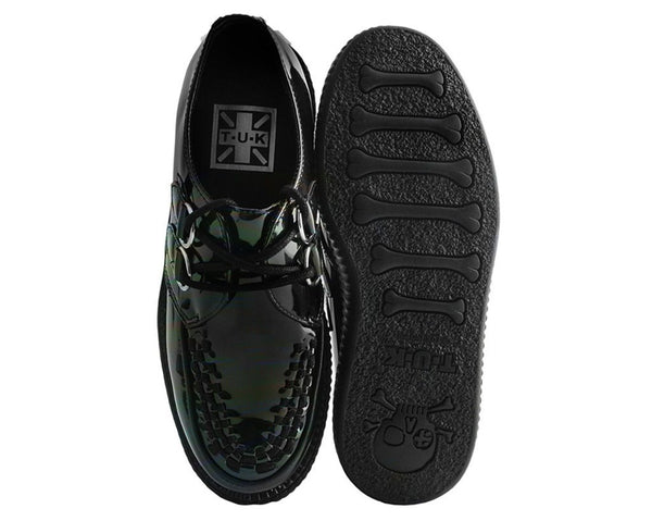Black Hologram Patent Viva Mondo Creeper