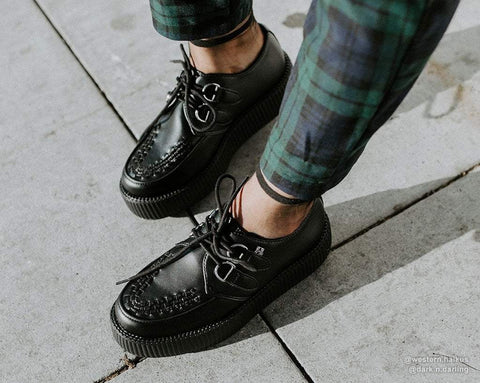 Black TUKskin™ Viva Mondo Creeper