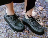 Charcoal Suede Viva Mondo Creeper