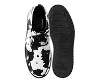Black & White D-Ring Interlace Viva Mondo Creeper