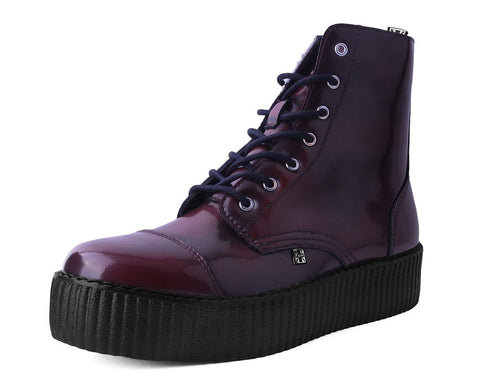 Burguny Rub Off TUKskin™ 7-Eye Boot