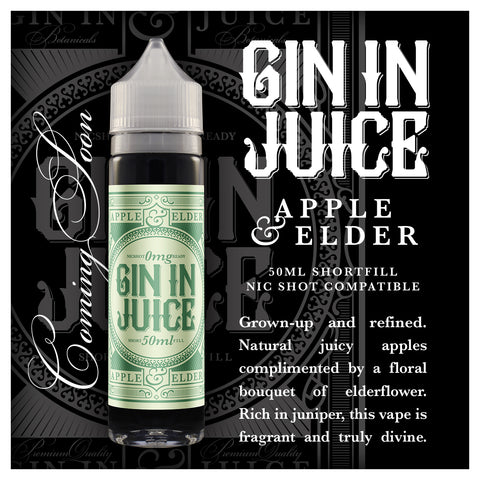 Gin In Juice - 50ml Short Fill