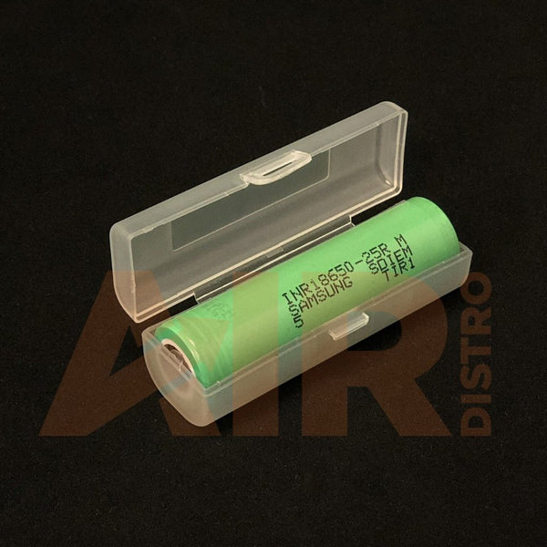 Samsung 25R 18650 Battery - In Plastic Case