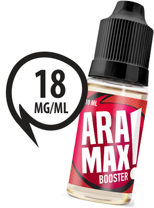 Aramax Booster - 50VG/50PG 18mg Nicotine Shot - Box of 10