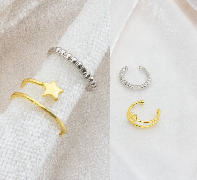 Cute Star Ear Cuff