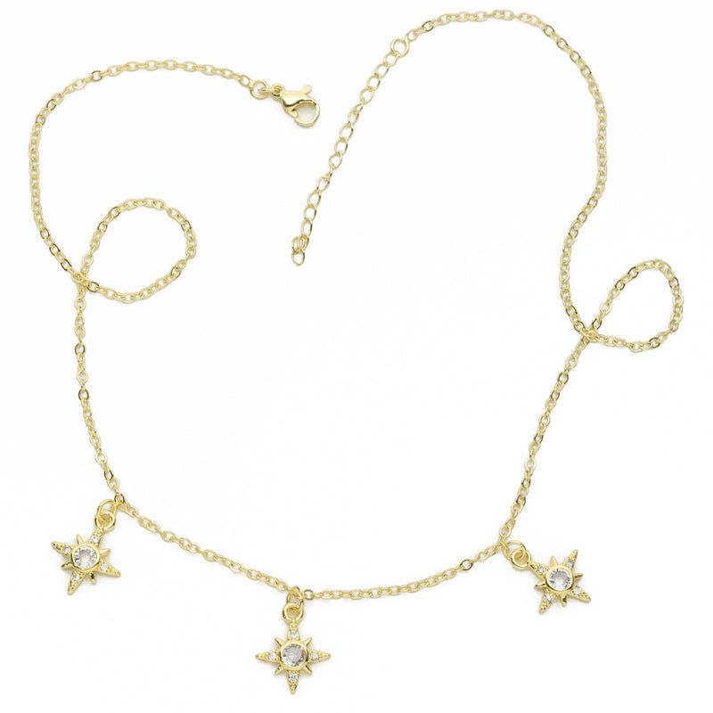 3 Northern Stars Necklace
